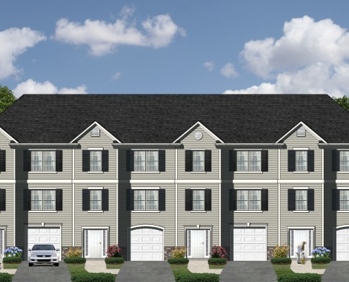 Antigua Townhome Elevations